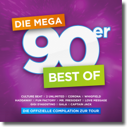 Cover: Die Mega 90er - Best Of - Various Artists