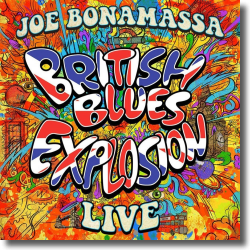 Cover: Joe Bonamassa - British Blues Explosion Live