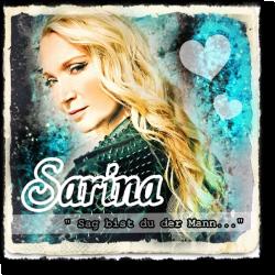 Cover: Sarina - Sag bist du der Mann...