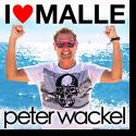 Cover:  Peter Wackel - I Love Malle