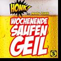 Cover:  Honk! feat. Andy Luxx - Wochenende, Saufen, Geil