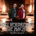 Cover:  Pures Glück - Uns verbrennt die Nacht