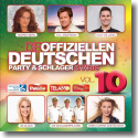 Cover:  Die offiziellen Deutschen Party & Schlager Charts Vol. 10 - Various Artists