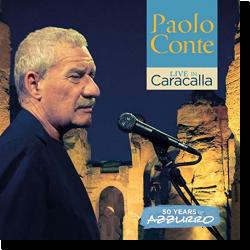 Cover: Paolo Conte - Live in Caracalla - 50 Years of Azzurro
