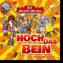 Cover: DJ Jürgen Brosda - Hoch das Bein