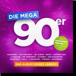 Cover: Die Mega 90er – Das Album Deines Lebens - Various Artists