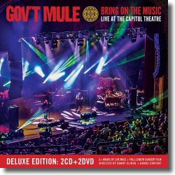 Cover: Gov't Mule - Bring On The Music - Live At The Capitol Theatre