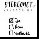 Cover: Stereoact feat. Vanessa Mai - Ja Nein Vielleicht