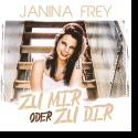 Cover:  Janina Frey - Zu mir oder zu dir