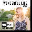 Cover: Wordz & Brubek - Wonderful Life 2K20