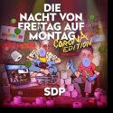 Cover: SDP - Die Nacht von Freitag auf Montag (Corona Edition)