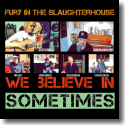 Cover:  Fury In The Slaughterhouse - We Believe In Sometimes