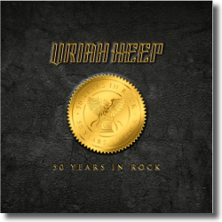 Cover: Uriah Heep - 50 Years In Rock (Super Deluxe Box)