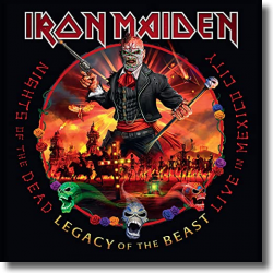 Cover: Iron Maiden - Nights Of The Dead – Legacy Of The Beast, Live in Mexico City