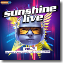 Cover:  sunshine live Vol. 71 - Various Artists
