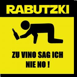 Cover: Rabutzki - Zu Vino sag ich nie no!