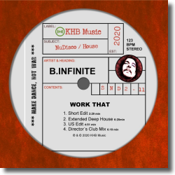Cover: B.Infinite - Work That
