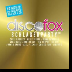 Cover: Discofox Schlagerparty Vol.1 - Various Artists