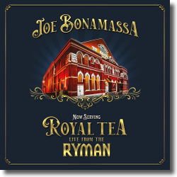 Cover: Joe Bonamassa - Now Serving: Royal Tea Live from the Ryman