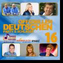 Cover: Die offiziellen deutschen Party & Schlager Charts Vol.16 - Various Artists