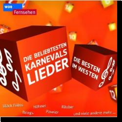 Cover: Die Besten im Westen - Die beliebtesten Karnevalslieder - Various Artists