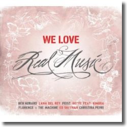 Cover: WE LOVE Real Music - Various Artists