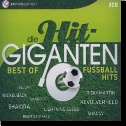 Cover: Die Hit Giganten - Best of Fußballhits - Various Artists