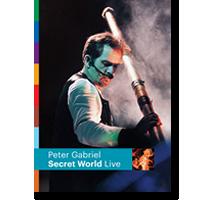 Cover: Peter Gabriel - Secret World Live