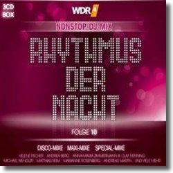 Cover: WDR4 Rhytmus der Nacht 10 - Various Artists