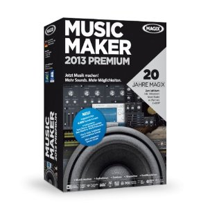 Cover: MAGIX Music Maker 2013 Premium - MAGIX