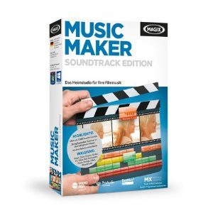 Cover:  MAGIX Music Maker Soundtrack Edition - MAGIX