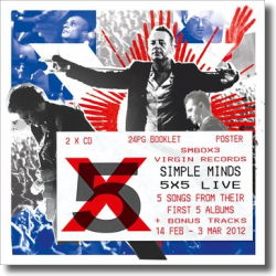 Cover: Simple Minds - 5x5 Live