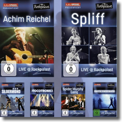 Cover: LIVE @ Rockpalast - 15 DVDs - Various Artists