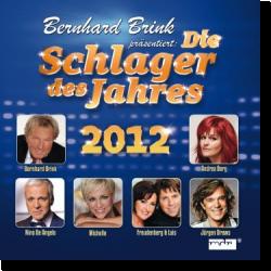 Cover: Die Schlager des Jahres 2012 – präsentiert von Bernhard Brink - Various Artists