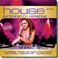 Cover: House: The Extended DJ Versions - Various Artists