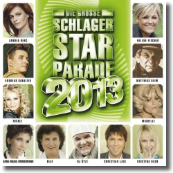 Cover: Die große Schlager Starparade 2013 - Various Artists