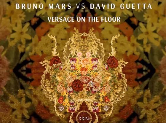 Musikvideo Bruno Mars Vs David Guetta Versace On The Floor