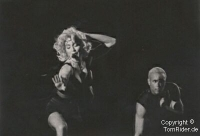 Madonna probt und probt und probt