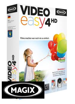 Magix Video easy 4 HD: In nur wenigen Minuten ein Video erstellen