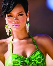 Rihanna: Blond und Nackt fuer Parfuem-Kampagne
