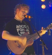 Ed Sheeran  performt bei ''GZSZ''
