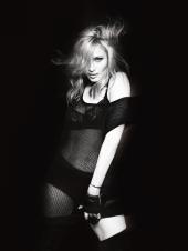 Madonna: sehr strenge Mama