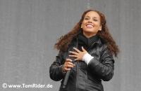 Alicia Keys feiert in New York ihr Album