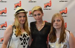 Miley Cyrus im Radio ENERGY-Interview