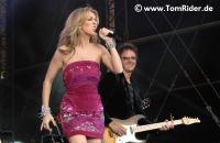 Céline Dion gibt Brust und Shows