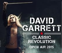 David Garrett Auf Open Air Tour 2015