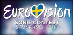 Eurovision Song Contest 2016 - alle Platzierungen