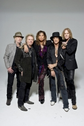Aerosmith treffen Obama in der Air Force One