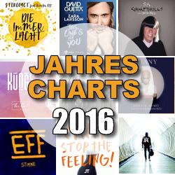 Jahrescharts 2016
