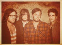 Die Kings of Leon lassen es in London krachen